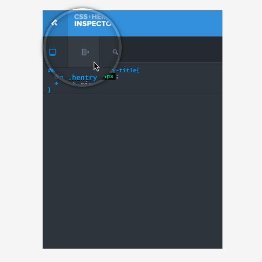 hide the main hero interface