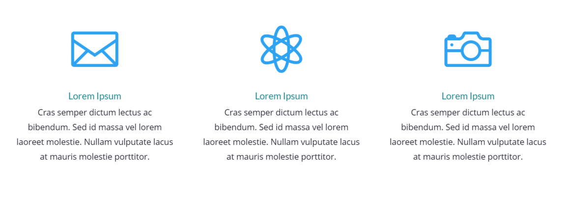edit the blue blurb icons with CSS Hero.