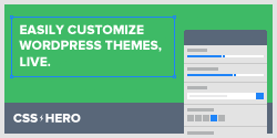 CSS Hero - WordPress theme customization