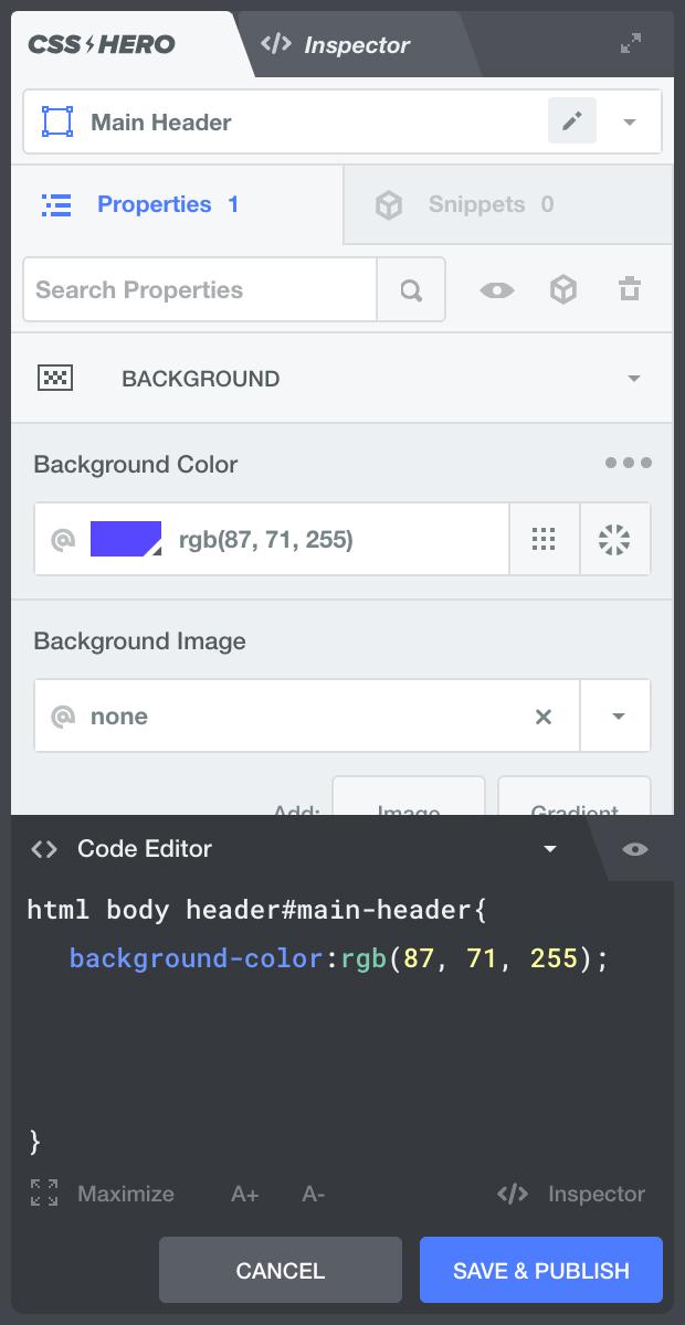 افزونه شخصی سازی پوسته ها و افزونه های وردپرس فارسی به صورت زنده و بصری با آپدیت رایگان CSS Hero - Live Customize WordPress Themes and Plugins Editor
