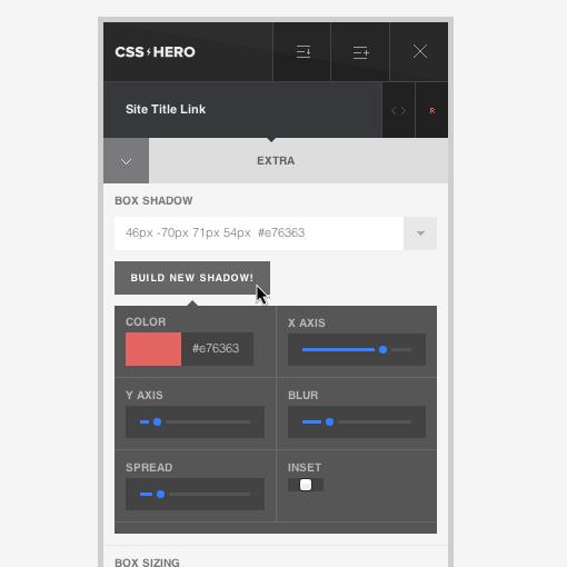 CSS Box Shadow Generator