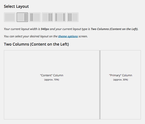 layout manager in canvas