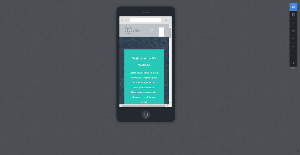 Editing CSS in the Mobile View