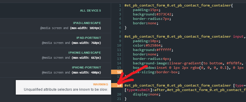 Avoid typical CSS mistakes with Inspector Pro