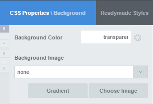 Create a ghost button with CSS Hero: Set background-color to transparent