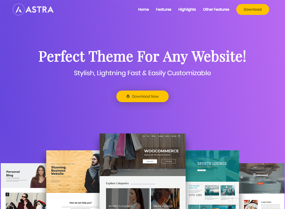Astra WordPress theme - How to Customize and Style it